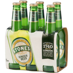 Photo of Stones Alcoholic Ginger Beer 330ml 6 Pack