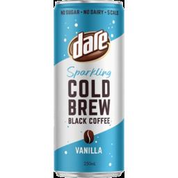 Photo of Dare Vanilla Sparkling Cold Brew Black Coffee 250ml