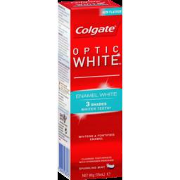 Photo of Colgate Optic White Enamel White 110g