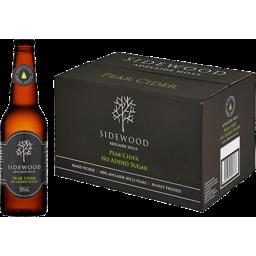 Photo of Sidewood Pear Cider Bottles