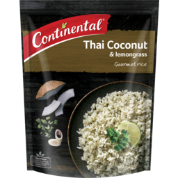 Photo of Continental Gourmet Rice Thai Coconut & Lemongrass 115g Serves 2