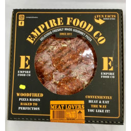 Photo of Empire Meatlover Pizza