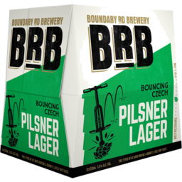 Photo of Boundry Road Brewery Czech Pilsner 12 Pack