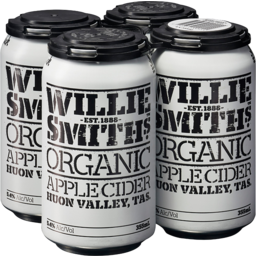 Photo of Willie Smith Organic Cider 4 Pack