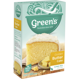 Photo of Green's Traditional Golden Butter Cake Mix 440g