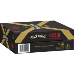 Photo of Black Douglas & Cola Can 375ml 3X10 Pack