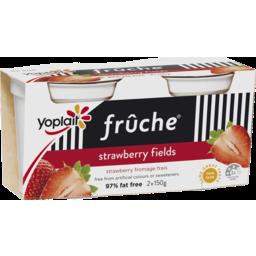 Photo of Yoplait Fruche Strawberry Fields 2x150g