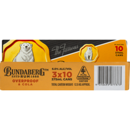 Photo of Bundaberg Op & Cola Can