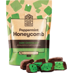 Photo of Little Ozzie Treats Peppermint Honeycomb 160g