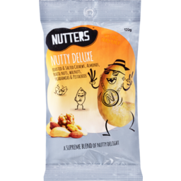 Photo of Nutters Nutty Mixed Nuts Deluxe 120g