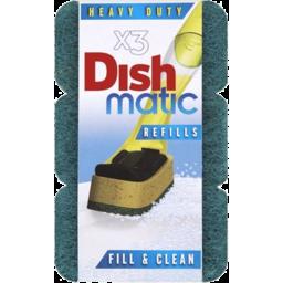Photo of Dishmatic Refill Mic Soft 3pk