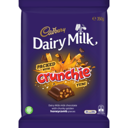 Photo of Cadbury Dairy Milk Crunchie 350g