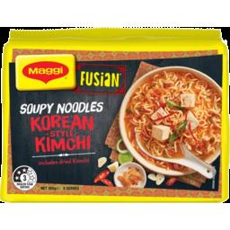 Photo of Maggi Fusion Korean Style Kimchi Flavour Soupy Noodles 5x71g