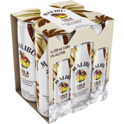Photo of Malibu & Cola Can