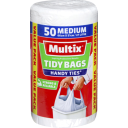 Photo of Multix Handy Tie Tidy Bags With Hanoodles 50 Medium 66x51cm 27