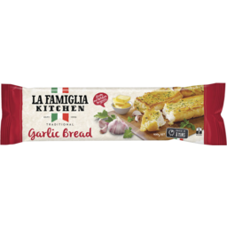 Photo of La Famiglia Traditional Garlic Bread 400g