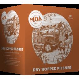 Photo of Moa Dry Hopper Pilsner 12 Pack