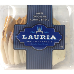Photo of Lauria White Chocolate Almond Bread 190g
