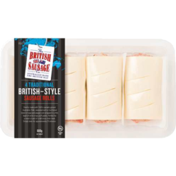 Photo of British Pork Sausage Rolls