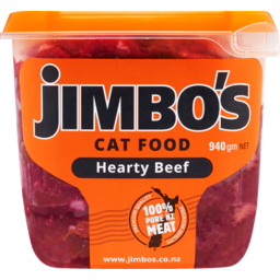 Photo of Jimbo's Cat Food Hearty Beef 940g
