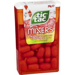 Photo of Tic Tac Mixers Watermelon Turns To Cool Lime 24g