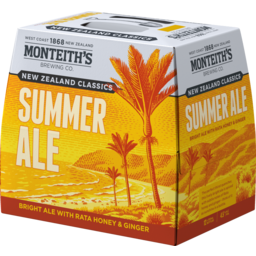 Photo of Monteith's Classics Summer Ale 12 x 330ml Bottles