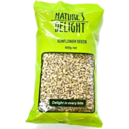 Photo of Natures Delight Sunflower Seeds 500g