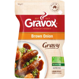 Photo of Gravox Liquid Gravy Brown Onion 165g