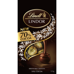Photo of Lindt Lindor 70% Cocoa 123g