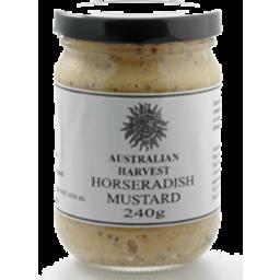 Photo of Australian Harvest - Mustard/Horseradish - 240g
