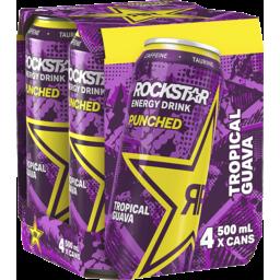 Photo of Rockstar Energy Drink Guava 4pk