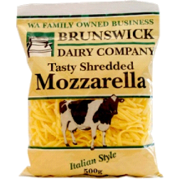 Photo of Brunswick Dairy Co Cheese Shredded Mozzarella (500g)