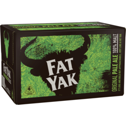 Photo of Yak Ales Fat Yak Original Pale Ale 4x6 X 345ml Bottles