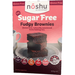 Photo of Noshu Sugar Free Brownie Mix 300g