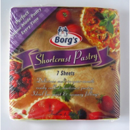Photo of Borgs Shortcrust Pastry 7pk