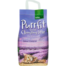 Photo of Vitapet Purrfit Litter Clumping 3L