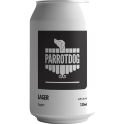 Photo of Parrot Dog Lager Can Single 330ml