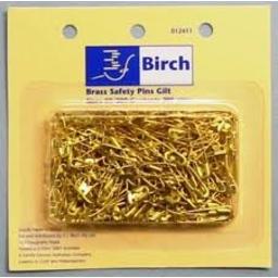 Photo of Birch Safety Pins Gold