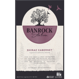 Photo of Banrock Station Shiraz Cabernet 2L
