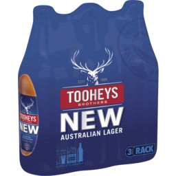 Photo of Tooheys New 3 X 750ml Bottles Shrinkwrap