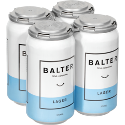 Photo of Balter Lager 4x375ml