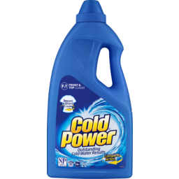 Photo of Cold Power Regular Front & Top Loader Laundry Liquid 2l