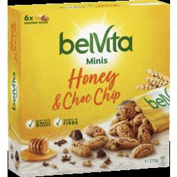 Photo of Belvita Minis Honey & Chocolate Chip 6x210g