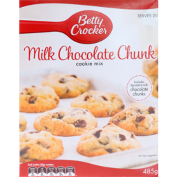 Photo of Betty Crocker Milk Chocolate Chunk Cookies 485g