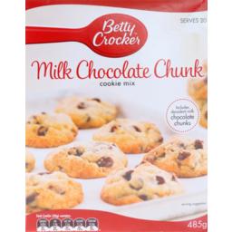 Photo of Betty Crocker Cookies Mix Milk Chocolate Chunk 485g