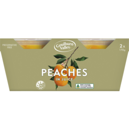 Photo of Goulburn Valley Peaches In Juice 2x170g