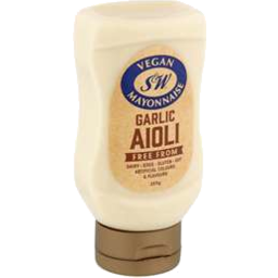 Photo of S&W Vegan Garlic Aioli Mayo 260g