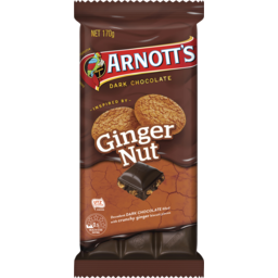 Photo of Arnott's Arnott'S Chocolate Block Ginger Nut 170g