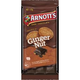 Photo of Arnott's Arnott'S Chocolate Block Ginger Nut 170g