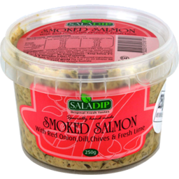 Photo of Saladip Smoked Salmon Dip with Red Onion, Dill, Chives & Chives